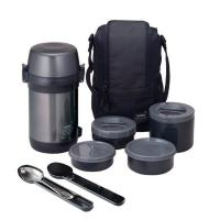 Thermos JLS-1601 Food (1,6 литра), черный